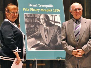 Récipiendaire du Prix Henri-Tranquille 2013