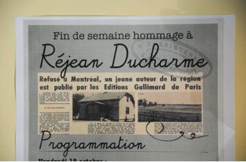 Fin de semaine hommage à Réjean Ducharme